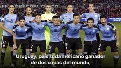 Análisis Rusia 2018: Uruguay, el favorito del grupo A