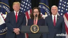 Gina Haspel juramenta como la primera mujer en dirigir la CIA
