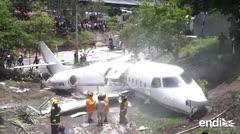 Heridos seis estadounidenses en un accidente de avión en Honduras