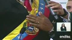 Maduro juró como presidente reelecto