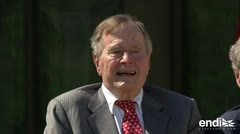 Expresidente de EE.UU. George H.W. Bush vuelve al hospital