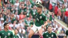 México sorprende 1-0 a la campeona Alemania en su debut mundialista
