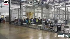 Revelan unas imágenes de los niños que fueron separados de sus padres en Texas
