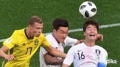 Suecia vence 1-0 a Corea del Sur gracias a un penal pitado con el VAR