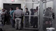 Impactantes visuales de cientos de inmigrantes enjaulados en un centro de Texas