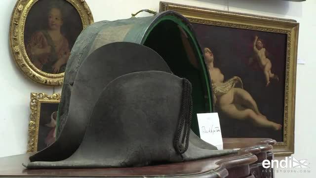 Subastan un sombrero de Napoleón recuperado en Waterloo en el 1815