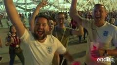 Inglaterra logra vencer a Túnez en el último minuto del partido del Mundial de Rusia