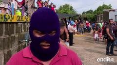 Los rebeldes de Masaya bloquean las calles para sacar al presidente de Nicaragua