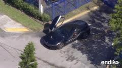 Publican imágenes del carro en que asesinaron al rapero XXXTentacion