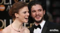 """Los actores Kit Harington y Rose Leslie de """"Juego de Tronos"""" se casaron"""