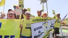 Los jubilados no aceptarán recortes a sus pensiones