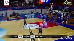 Las mejores jugadas del partido entre Puerto Rico y Francia