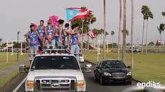 Reciben como héroes a la Selección Sub-17 de baloncesto masculino