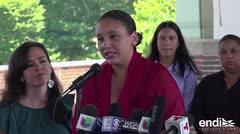 Mujer atacada al llevar puesta la camisa de Puerto Rico explica por qué grabó el video