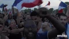 Casi 300 detenidos en Francia por los incidentes durante los festejos mundialistas