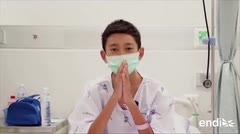 Calman a los espíritus de la cueva tailandesa tras el rescate de doce niños
