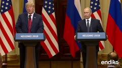 Esto fue lo que pasó cuando Trump y Putin se vieron cara a cara
