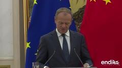 La Unión Europea pide a China, Estados Unidos y Rusia evitar el caos de una guerra comercial