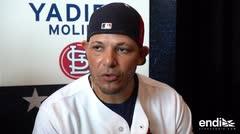 Yadier Molina no descarta un rol de dirigente en el futuro