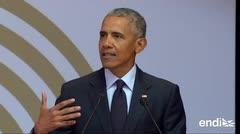 Barack Obama conmemora el centenario de Mandela