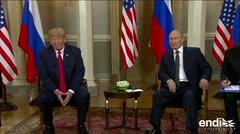 """Putin denuncia hay """"fuerzas"""" que sacrifican la relación entre Rusia y Estados Unidos"""