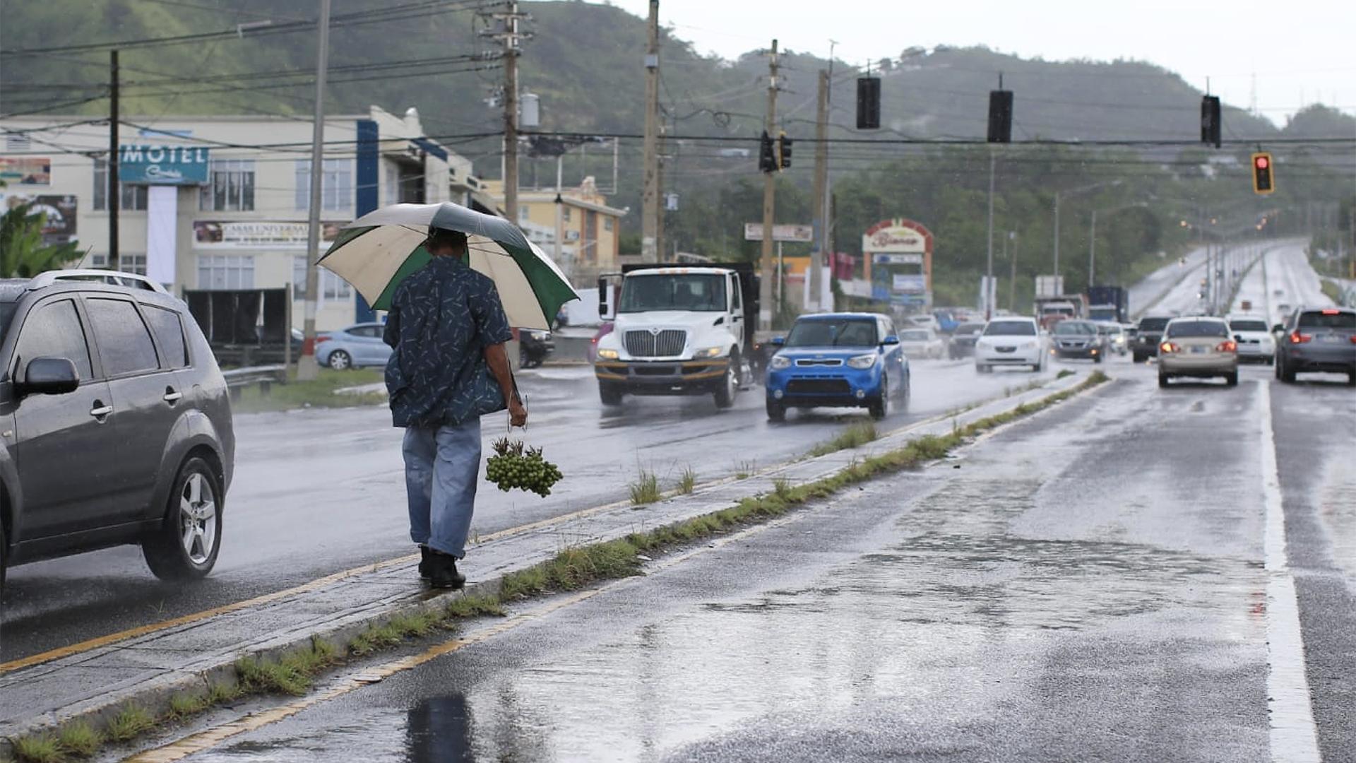 Ya se sienten las lluvias en Añasco