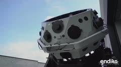 Contruyen un telescopio capaz de detectar asteroides y cometas peligrosos