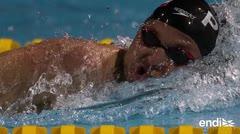 Orgullosos con su desempeño los nadadores boricuas