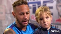 """Neymar """"No quería ver una pelota"""" después del mundial"""
