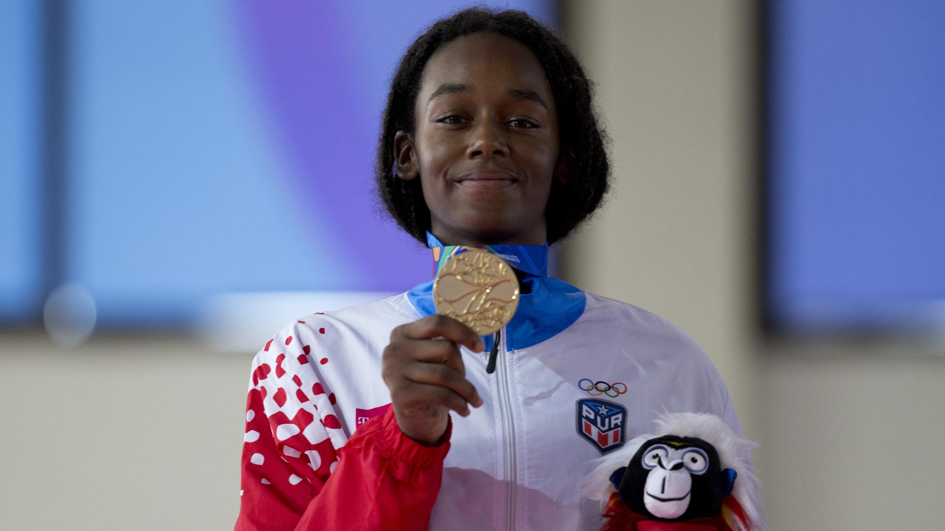 Suena la Borinqueña por tercera vez con la medalla de Crystal Weekes