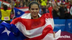 Adriana Díaz se convierte en la reina de los Juegos de Barranquilla