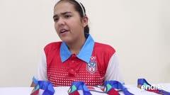 Adriana Díaz agradece el apoyo que recibió del pueblo puertorriqueño