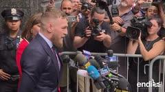 Conor McGregor se declara culpable por atacar un autobús