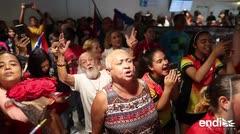 Sorprenden a los deportistas boricuas con un colorido recibimiento en el aeropuerto
