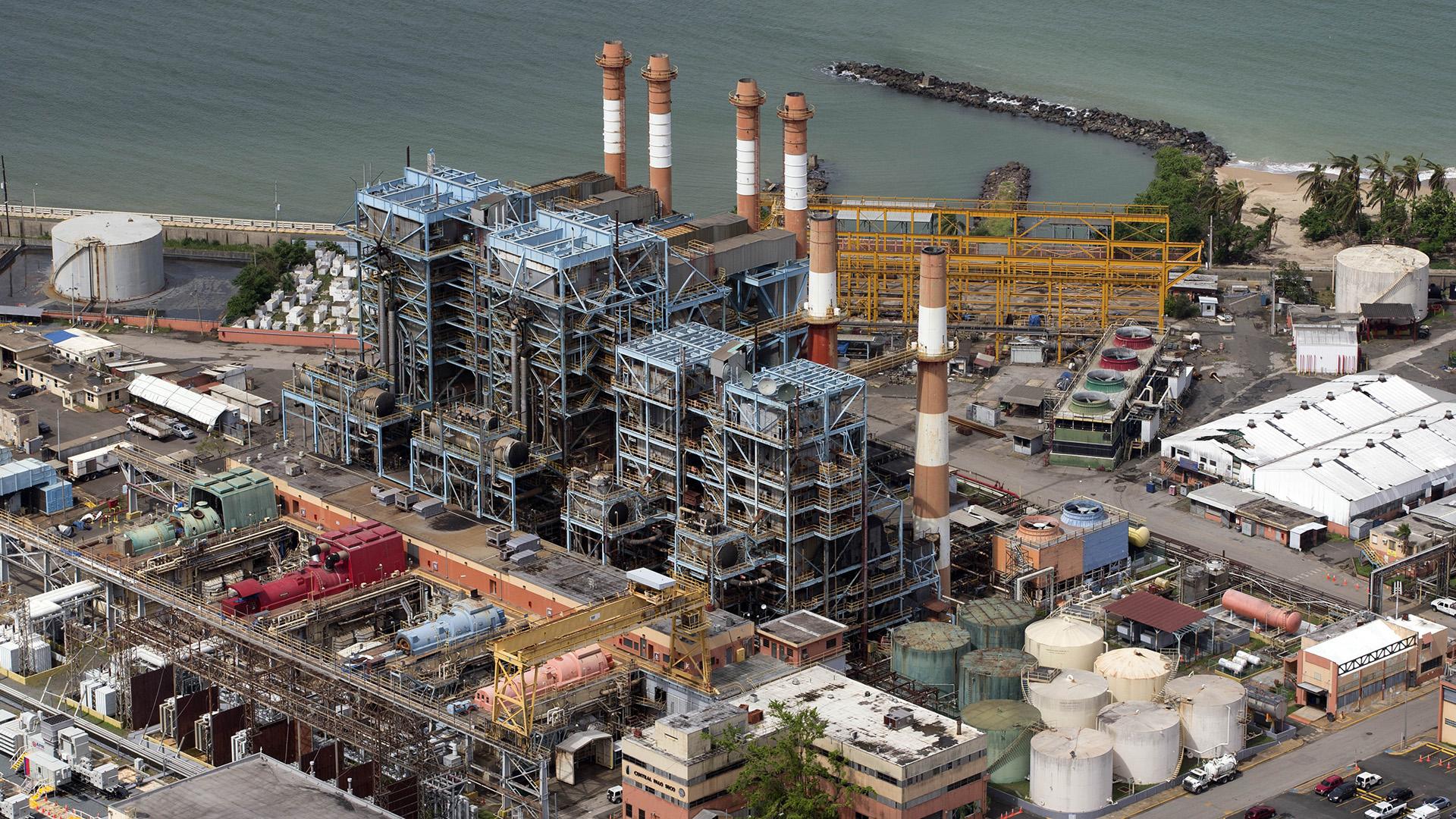 Los diez lugares de producción energética más viejos de Puerto Rico