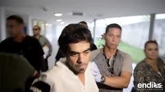 Las primeras imágenes tras el arresto del hombre que supuestamente mató a un paciente