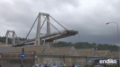 Decenas de muertos y heridos por el derrumbe de un puente en Italia