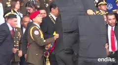 """Un general venezolano detenido por el """"atentado"""" contra Maduro"""
