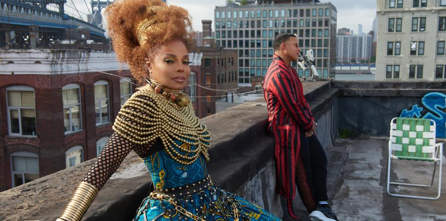 "Janet Jackson y Daddy Yankee lanzan el vídeo de ""Made For Now"""