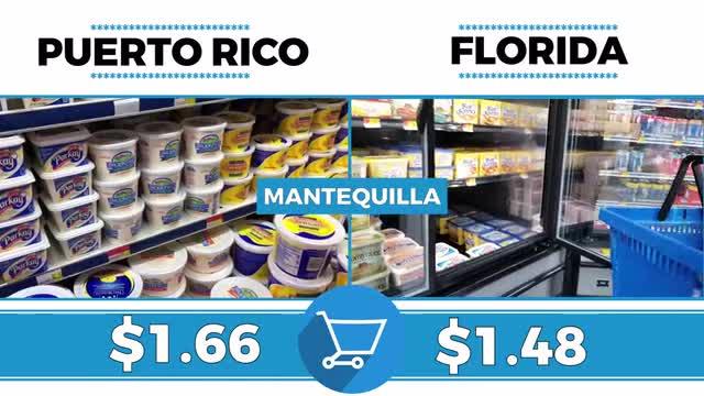 ¿Sale más caro una compra en Florida o Puerto Rico?