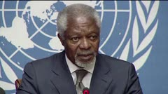 Muere Kofi Annan, ex secretario general de la ONU
