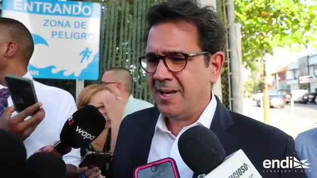 Roberto Prats asegura estar tranquilo a su llegada a la reunión de la Junta de Gobierno del PPD