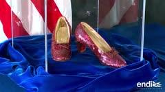 """Recuperan zapatos de """"El Mago de Oz"""" robados hace 13 años"""