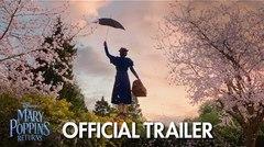 "Revelan el tráiler de la película ""Mary Poppins Returns"""