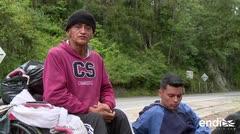 La odisea de un venezolano parapléjico para buscar medicina