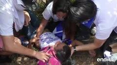 Impactantes imágenes de una marcha en Nicaragua que terminó en tragedia