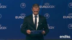 Anuncian la sede de la Eurocopa 2024