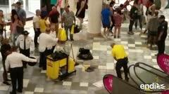 Un hombre resultó herido en una pelea en Plaza Las Américas