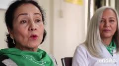 Luz Towns, madre de Lin-Manuel Miranda, aboga por las mujeres en Puerto Rico