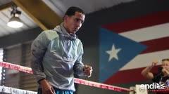 Manny Rodríguez: confiado en su preparación y entrenamiento